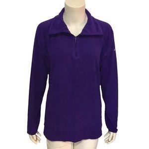 COLUMBIA | Women's Quarter Zip Pullover Fleece L